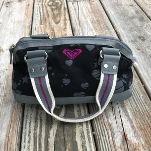 Roxy purse black with hearts
